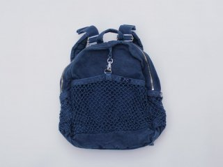 <Porter Classic/ポータークラシック>CANVAS NET DAYPACK(Blue)