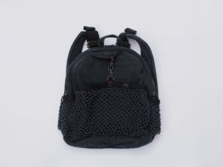 <Porter Classic/ポータークラシック>CANVAS NET DAYPACK(Black)