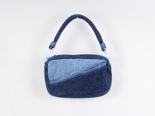 <Porter Classic / ポータークラシック>SASHIKO SHOULDER BAG S(New Blue)