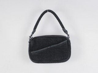 <Porter Classic/ポータークラシック>SASHIKO SHOULDER BAG S(Black)
