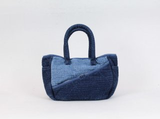 <Porter Classic / ポータークラシック>SASHIKO TOTE BAG S(New Blue)