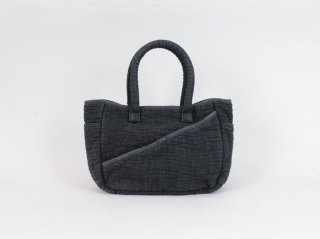 <Porter Classic/ポータークラシック>SASHIKO TOTE BAG S(Black)