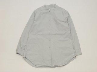 <L&HARMONY WOMEN/エルアンドハーモニーウーマン>マオカラーロングシャツ(Gray)