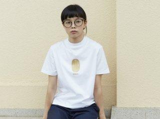 〈L&HARMONY WOMEN/エルアンドハーモニウーマン〉ハイクルーネックプリントTシャツ