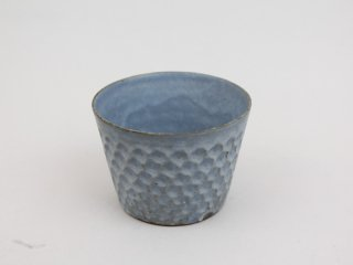 〈武曽健一〉猪口の形のフリーカップ(Gray)