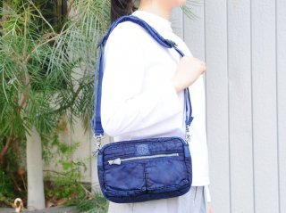 <Porter Classic/ポータークラシック>S/N SHOULDER BAG S(Indigo Blue)