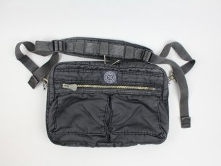 <Porter Classic/ポータークラシック>S/N SHOULDER BAG M(Black)