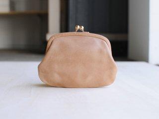 <StitchandSew/スティッチアンドソー>牛蝋引き小型がま口財布(Cork)