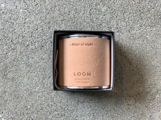 〈LOOM/ルーム〉FRAGRANCE CANDLE(River of night)