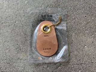 〈LOOM/ルーム〉FRAGRANCE LEATHER COW TAG(Mystic)