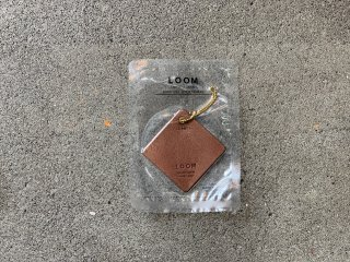 〈LOOM/ルーム〉FRAGRANCE LEATHER TAG(Leaf)