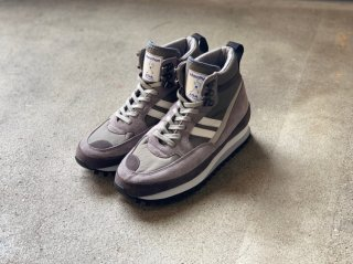 <ZDA/ゼットディーエー>MARATHON MID CUT(Gray)