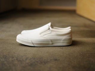 <Asahi/アサヒ>ASAHI DECK SLIP-ON(White)