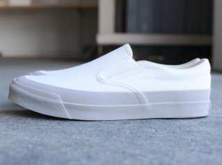 <Asahi/アサヒ>ASAHI DECK SLIP-ON(White/Gray)