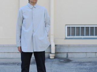 <L&HARMONY MEN/エルアンドハーモニーメン>タイプライラーロングシャツ(Gray)