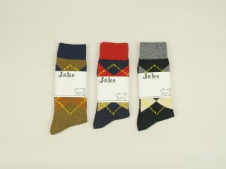 <Jake/ジェイク>アーガイルソックス