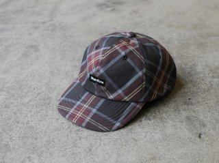 <ShareTone/シェアトーン>LOGO CHECK CAP(Wine)