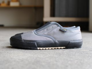 <REPRODUCTION OF FOUND/リプロダクションオブファウンド>ITALIAN MILITARY TRAINER(Gray/Black Sole)