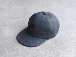 <ShareTone/シェアトーン>HERRINGBONE CAP(Black)