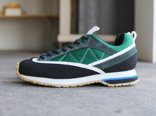<ZDA/ゼットディーエー>Climber(Green×White×Honey Sole)