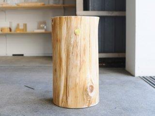 <Cul de Sac - JAPON/カルデサック-ジャポン>HIBA WOOD 中丸太 H-45cm