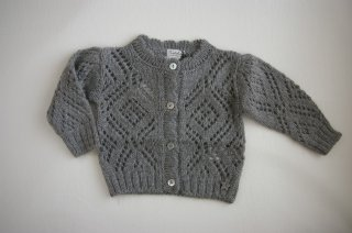 <img class='new_mark_img1' src='//img.shop-pro.jp/img/new/icons24.gif' style='border:none;display:inline;margin:0px;padding:0px;width:auto;' />tocoto vintage/GIRL KNITTED JACKET/GREY