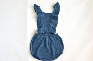 <img class='new_mark_img1' src='//img.shop-pro.jp/img/new/icons24.gif' style='border:none;display:inline;margin:0px;padding:0px;width:auto;' />tocoto vintage/Knitted Body Suspenders/Blue