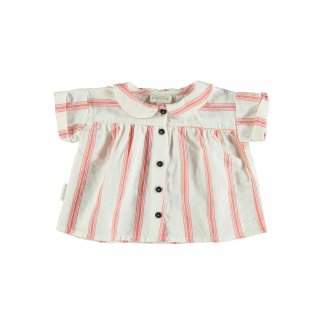 <img class='new_mark_img1' src='//img.shop-pro.jp/img/new/icons14.gif' style='border:none;display:inline;margin:0px;padding:0px;width:auto;' />piupiuchick/Peter Pan collar blouse/Red stripes