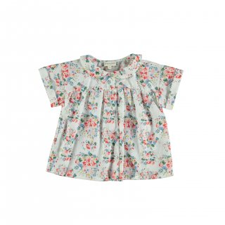 <img class='new_mark_img1' src='//img.shop-pro.jp/img/new/icons14.gif' style='border:none;display:inline;margin:0px;padding:0px;width:auto;' />piupiuchick/Peter Pan collar blouse/Flowers