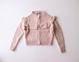 <img class='new_mark_img1' src='//img.shop-pro.jp/img/new/icons24.gif' style='border:none;display:inline;margin:0px;padding:0px;width:auto;' />tocoto vintage/19AW/ Knitted cardigan /Pink