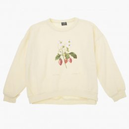 <img class='new_mark_img1' src='//img.shop-pro.jp/img/new/icons24.gif' style='border:none;display:inline;margin:0px;padding:0px;width:auto;' />Tocoto Vintage/  Strawberry plant drawing sweatshirt