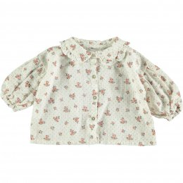 <img class='new_mark_img1' src='https://img.shop-pro.jp/img/new/icons14.gif' style='border:none;display:inline;margin:0px;padding:0px;width:auto;' />Tocoto Vintage/Flower print blouse/Off-white
