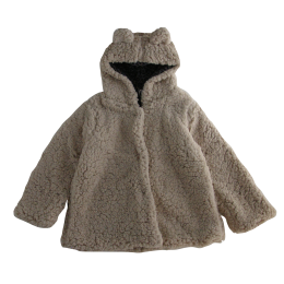 <img class='new_mark_img1' src='https://img.shop-pro.jp/img/new/icons14.gif' style='border:none;display:inline;margin:0px;padding:0px;width:auto;' />Tocoto Vintage/ Ears hood faux fur coat/Beige