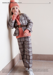 <img class='new_mark_img1' src='https://img.shop-pro.jp/img/new/icons14.gif' style='border:none;display:inline;margin:0px;padding:0px;width:auto;' />Tocoto Vintage/ Plaid flower print palazzo pants