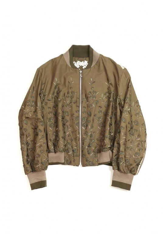 Botanical Packer Blouson(khaki)