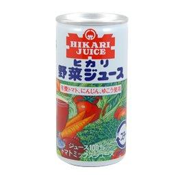 ヒカリ野菜ジュース有塩【190g】