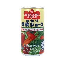 ヒカリ野菜ジュース無塩【190g】