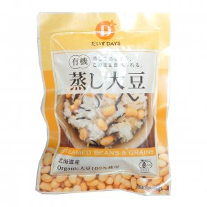 C10北海道産有機蒸し大豆