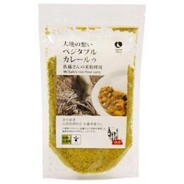米粉を使ったカレールゥ(佐藤さんの米粉使用)