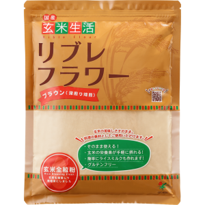 玄米生活リブレフラワー ブラウン