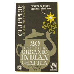 クリッパー オーガニックフェアトレード紅茶インディアンチャイ 直