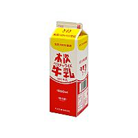 【冷蔵】木次乳業 木次バスチャライズ牛乳 1L