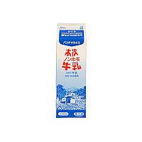 【冷蔵】木次乳業 木次ノンホモ牛乳 1L