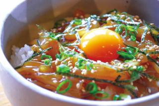 【時期限定】隠岐・海士の旬鮮シマメ漬け丼セット(送料込み) 73008
