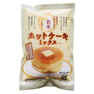 お米を使ったホットケーキミックス