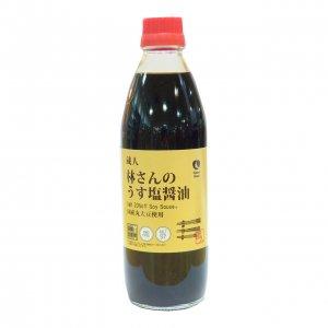NH林さんうす塩醤油 500ml