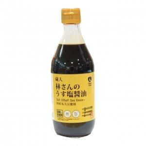 NH林さんうす塩醤油 360ml