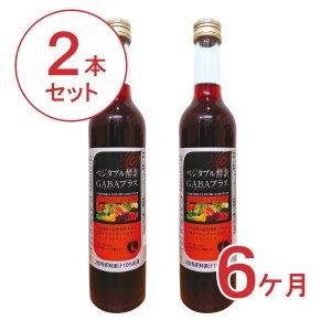 【定期便】ベジタブル酵素GABAプラス2本【6ヶ月コース】