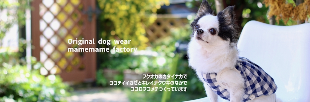 Original dogwear Mamemame Factory