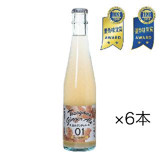 【6本】土佐山ジンジャーエール 辛口 [ 01 Premium 300ml ]